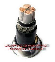 Power Cable (CU / XLPE / PVC / STA / PVC-FP-0.6 / 1KV) pictures & photos