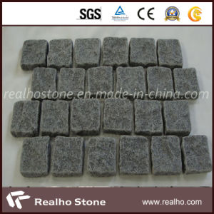 Different Types of Mesh Backed Granite Cobblestone Pavers for Floor Tiles pictures & photos
