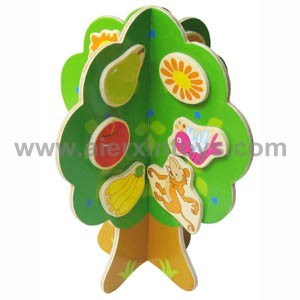 Wooden Lacing Tree Toy (81257) pictures & photos