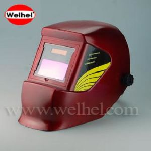 Auto Darkening Welding Helmet (WH4400 RED) pictures & photos