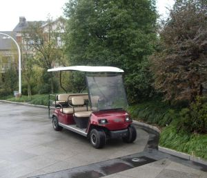 Lvtong Brand 6 Passengers Electric Vehicle pictures & photos