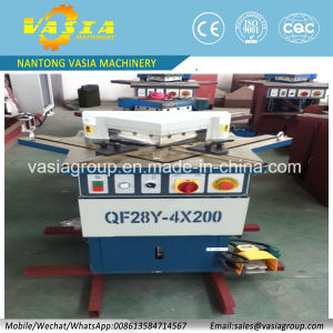 Corner Angle Notching Machine Work for 0-360 Angle Notching pictures & photos