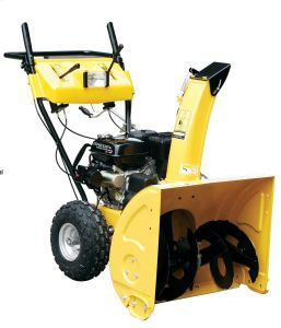 High Quality 5.5HP Gasoline Snow Thrower Stg5556-01e pictures & photos