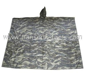 Camouflage Rain Poncho pictures & photos