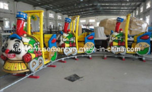 Playground Equipment Mini Electric Trains for Kids Riding