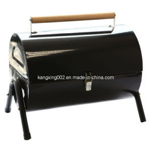 Round Lockable Charcoal BBQ Grill (KX-8026A)