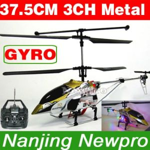 37.5CH 3CH Gold Falcon RC Helicopter (LY6621(T))
