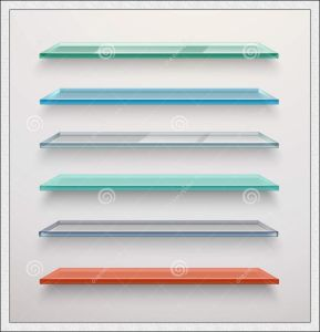 Small Pieces Clear Toughened Glass for Decoration / Shelf Glass / Louver Glass pictures & photos