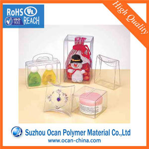 0.1mm Thick Calender Transparent PVC Thin Plastic Sheet for Folding Box pictures & photos
