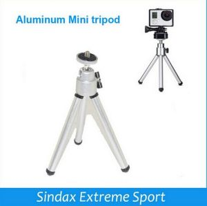 Portable Aluminum Mini Gopros Tripode Lightweight Type Camera Accessories (OM-RK586) pictures & photos