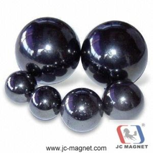 Hot Sale Sintered Ferrite Ball Magnet pictures & photos