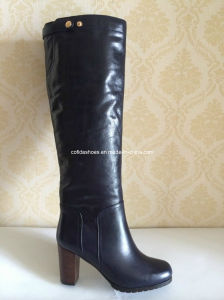 Sexy High Heels Fashion Women or Lady Leather Boots pictures & photos