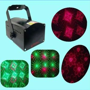 Green Red Laser Light 20 Kind Pattern Sound Active LED Stage Light pictures & photos