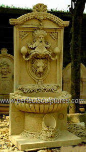 Water Wall Fountain for Garden Stone Marble Sculpture (SY-W158) pictures & photos