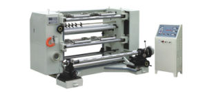 Vertical Automatic Slitting & Rewinding Machine (WFQ700-1300) pictures & photos