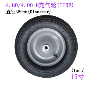 4.00-8 Tire 15 Inch Tire Inflatable Tire pictures & photos