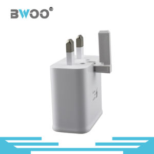 Travel Charger QC9V2.0 Fast Charging UK Plug Portable Adapter pictures & photos