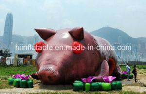 Beautiful Outdoor Inflatable Exhibitions /Inflatable Art Design/City Architecture/Inflatable Pig
