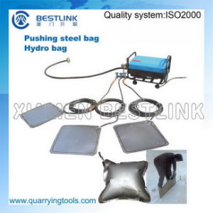 Quarrying Use Stone Block Push Down Tools Steel Hydro Bags pictures & photos