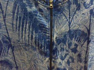 Man Leisure Coat Clothes with Zippper in Denim Washing pictures & photos