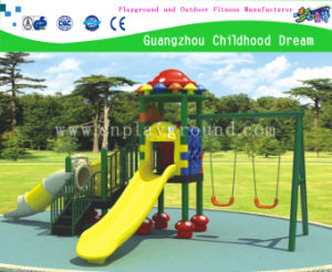 Factory Price Small Mushroom Playground & Swing Combination Set (HLD-M04) pictures & photos