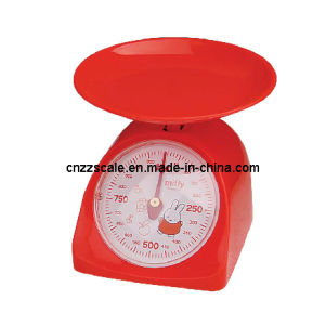 Cheap Price Mechanical Plastic Kitchen Scale pictures & photos