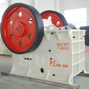ISO, CE Patented Jaw Crusher (PE Series)
