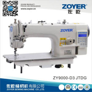 Zy9000d-D3 Zoyer Computer Lockstitch Industrial Sewing Machine with Auto-Trimmer pictures & photos