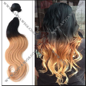 Ombre Peruvian Human Hair Extension pictures & photos