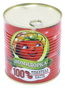 Canned Tomato Paste 28-30% (400g)