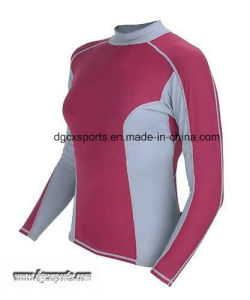 Fashion 4-Way Stretch Lycra Rash Vest pictures & photos