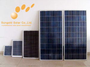 5W - 115W Polycrystalline Solar Panel Module