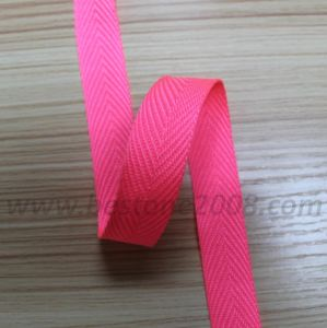 High Quality Spun Polyester Webbing for Bag and Garment#1312-43 pictures & photos