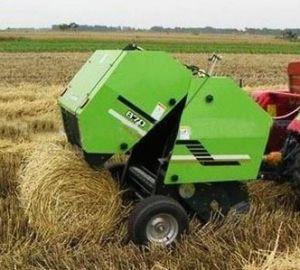 Alfalfa Hay Bales, Round Baler pictures & photos