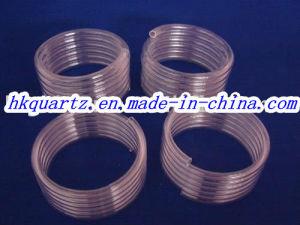 Quartz Coil, Section Quartz Tube, Clear Spiral Quartz Tube pictures & photos