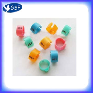 Plastic Clip Pigeon Ring (GSF-PPR-O)