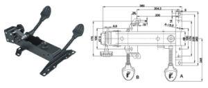 Heavy-Duty Chair Mechanism Jb-425