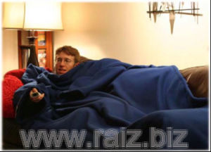Snuggie Blanket / TV Blanket with Sleeve pictures & photos