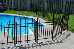 Quality Security Swimming Pool Metal Fence for Sale Dh-Ya-29