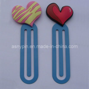 Heart Shaped Logo Bookmark (ASNY-BM-TM-158) pictures & photos