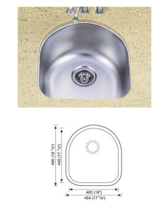 Stainless Steel Sinks pictures & photos