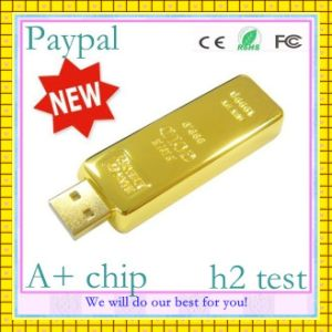 Gold Bar USB Flash Drive (GC-M002) pictures & photos