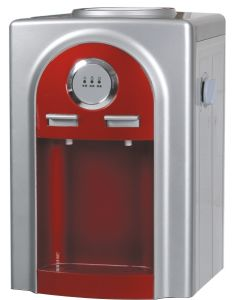 Hot and Cold Table Water Dispenser with Compressor (XJM-AG01T) pictures & photos