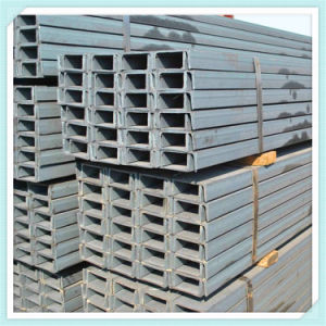 Q235 Ss400 Hot Rolled Prime Quality Steel U Channel From China pictures & photos