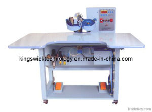 Ultrasonic Hot Fix Rhinestone Setting Machine (two colors) pictures & photos