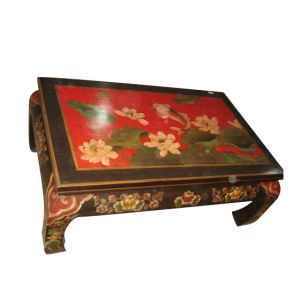 Antique Chinese Hand Painted Coffee Table Lwe171