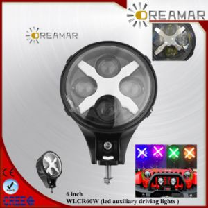 6inch 60W LED Auxiliary LED Headlight pictures & photos