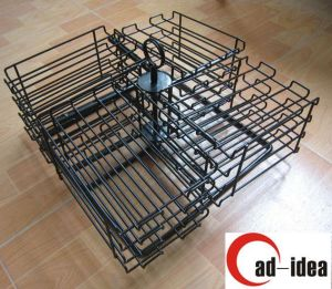 Wire Disply Rack, Wire Rotating Stand. Wire Countertop Stand Wire Rack Mdr-031 pictures & photos