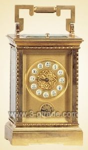 Carriage Gilded Clock (JGK5001A)