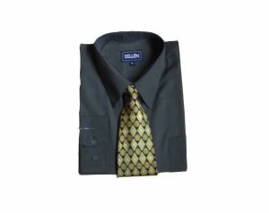 Men′s Long Sleeve Shirt with Tie